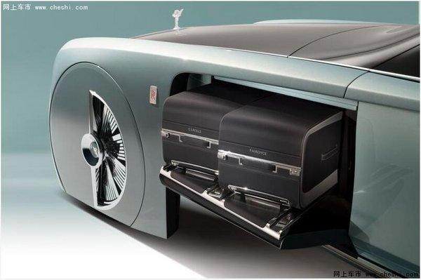 未来百年劳斯莱斯概念车103EX亮相北美高清图片