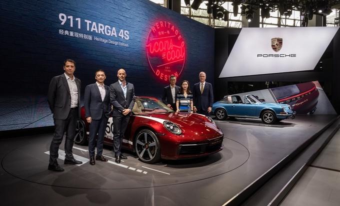 保时捷911 Targa 4S 经典重现特别版 广州车展首发-图1