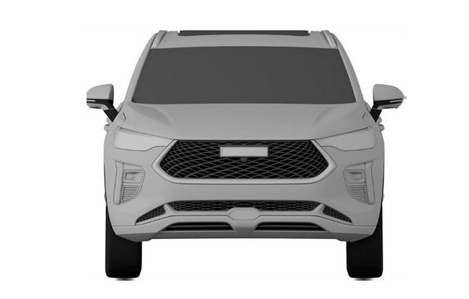 哈弗全新H2北京车展发布 年内上市-造型更运动-图2