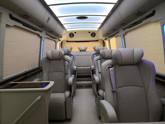 丰田考斯特15座客车新优惠 选装真皮座椅-图5