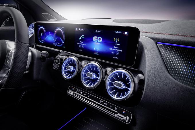 奔驰EQA首发 国产车型将搭双电机/续航超500公里-图6