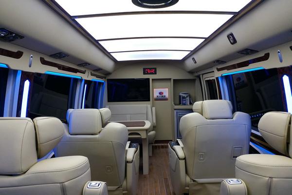 丰田考斯特高端航空座椅 一把手专车专用-图10