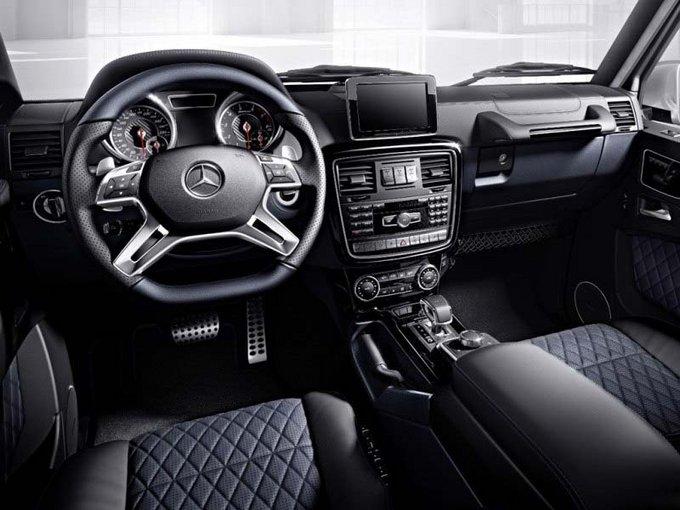 奔驰G63明星网红挚爱 性能新款越野实拍-图5