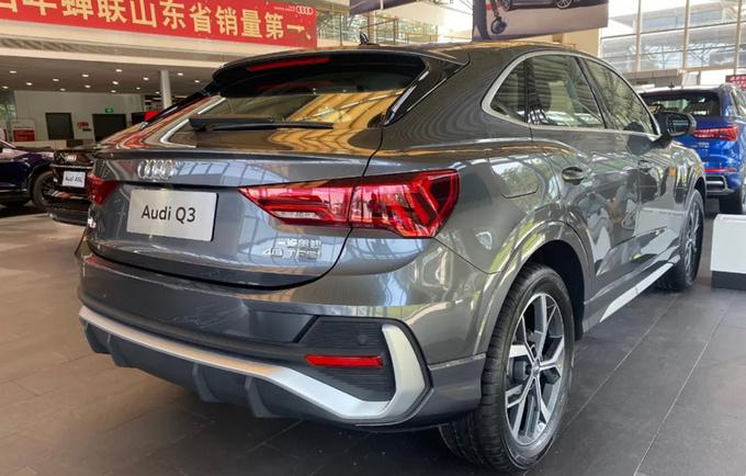 奥迪Q3轿跑5月29号上市 比宝马X2/GLA 28万起售-图1