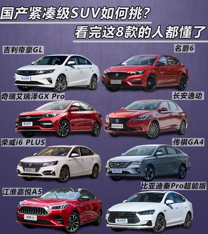 国产紧凑级轿车如何挑在这8款中选一辆准没错-图1