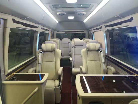 丰田考斯特15座客车新优惠 选装真皮座椅-图4