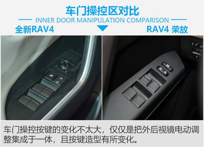 外观设计更奔放 全新丰田RAV4对比RAV4 荣放-图4