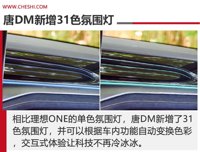 豪华插混SUV的标杆 唐DM和理想ONE怎么选-图7