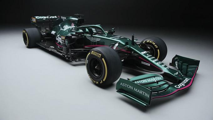 阿斯顿·马丁推出新款F1赛车深绿涂装/英伦气息-图3