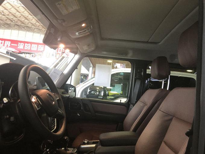 18款加版奔驰G550 汽油V8动力SUV气场强-图5