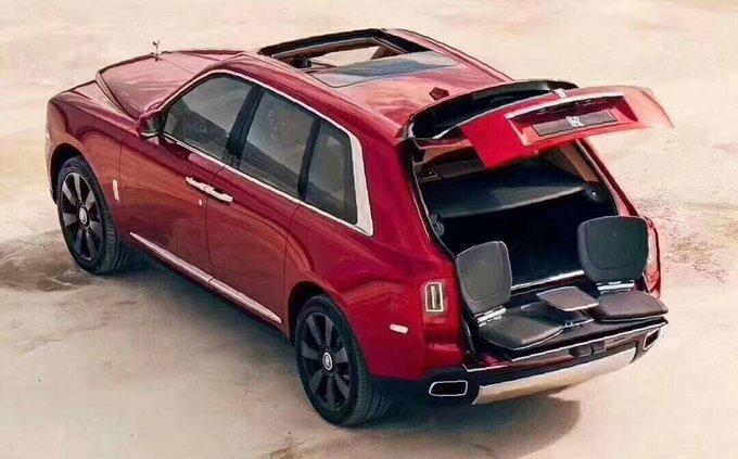 劳斯莱斯库里南SUV 全国第一批定金优先-图8