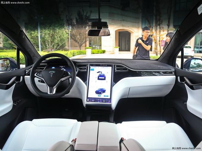 鸥翼门SUV MODEL X现车在售 竞争奥迪Q7-图1