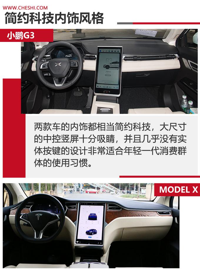 小鹏G3对比Model X更低的价格 更高的性价比-图5