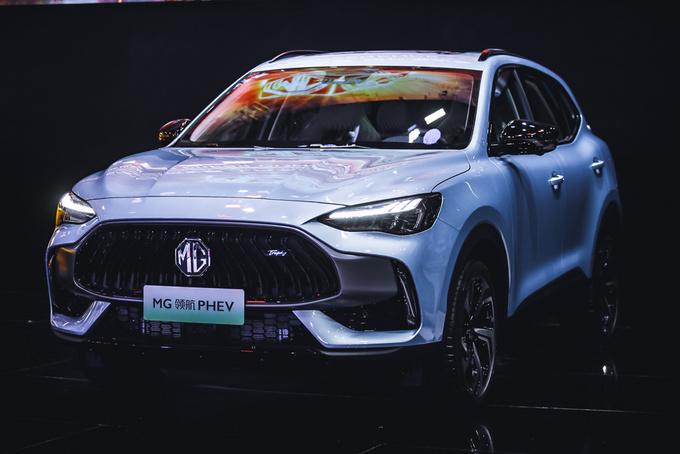广州车展 百年国际品牌MG连发4款科技潮品新车-图8
