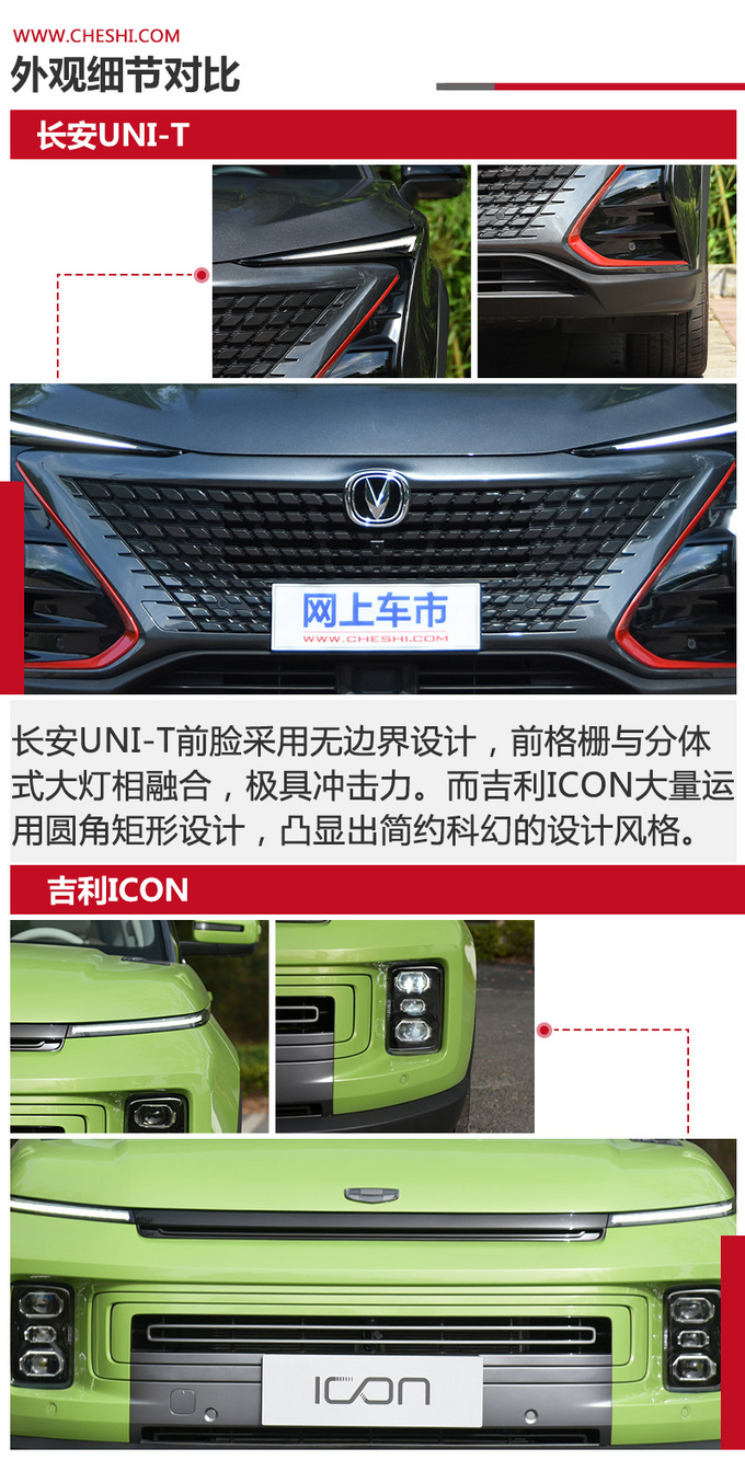 次世代SUV对决 长安UNI-T和吉利ICON怎么选-图8