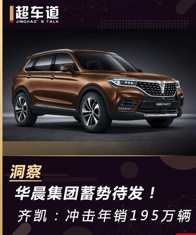 华晨集团蓄势待发齐凯冲击年销195万辆-图1