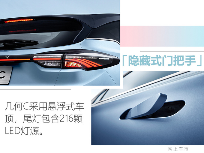 几何C纯电动跨界SUV实拍图 有望于三季度上市-图5