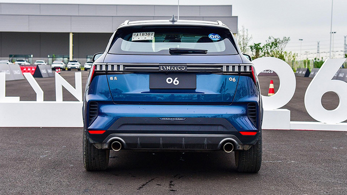 个性精致小型SUV 领克6正式上市xx.xx万元起-图5