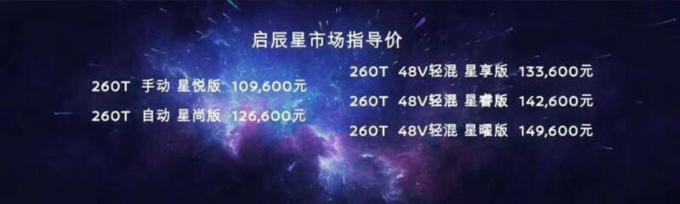 """10.96万起,""""A+级SUV头等舱""""启辰星东莞上市-图1"""