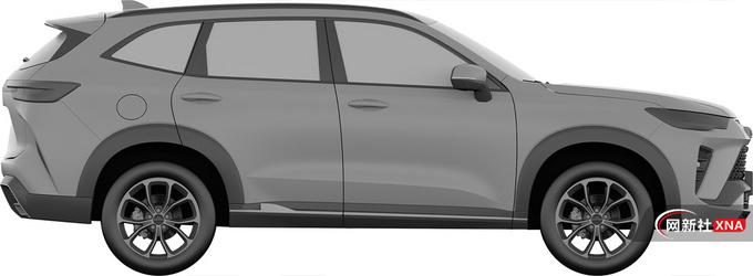 哈弗全新紧凑型SUV曝光采用插混系统 或12万起-图4