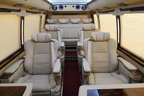 丰田考斯特15座客车新优惠 选装真皮座椅-图11