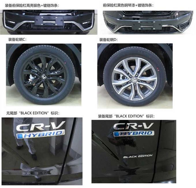 东风本田大改款CR-V实拍 尺寸提升/造型更运动-图6