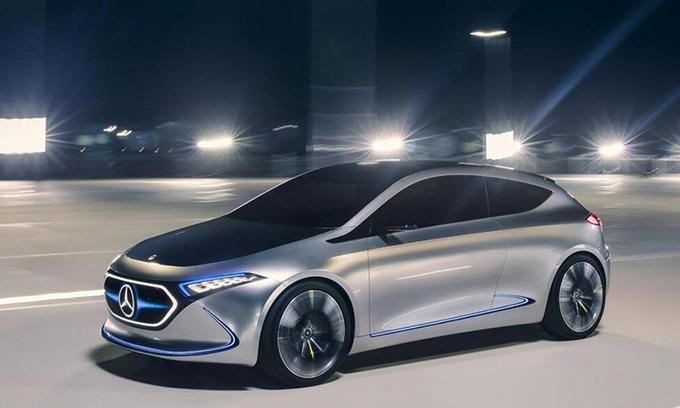 奔驰延续EQA概念 计划推出数款A级电动车