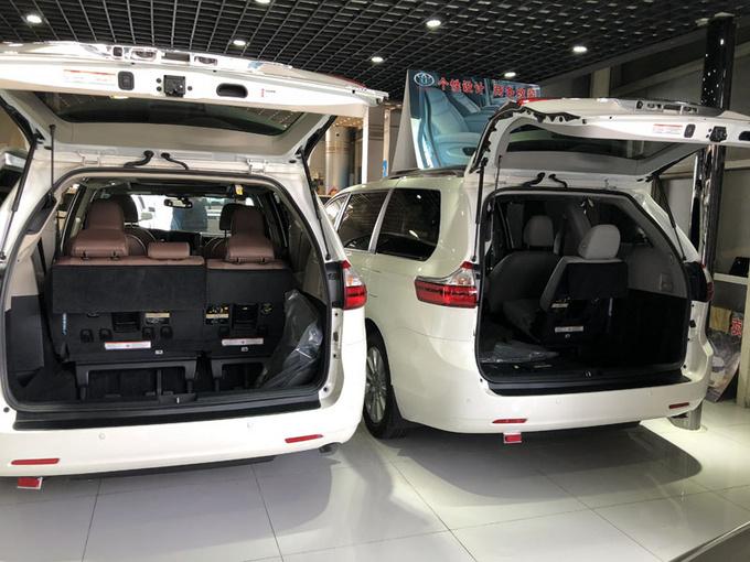 丰田塞纳LTD四驱 七座顶配商务促销价格-图8