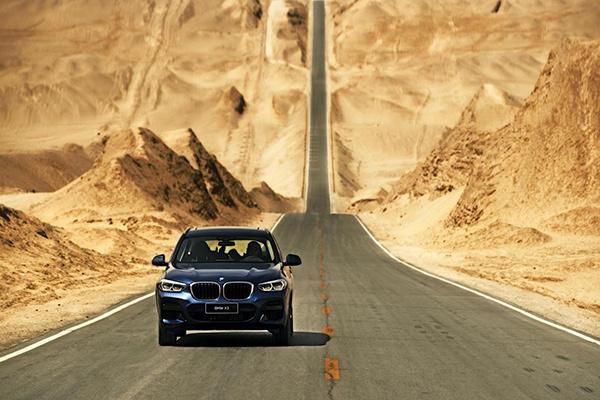 纵戈壁,逐星河 2020 BMW X3体验季展担当本色-图1