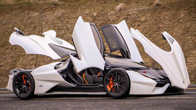 四款极速超400km/h的超级跑车 功率均超千匹-图7