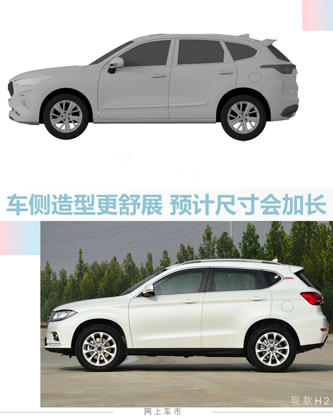哈弗全新H2北京车展发布 年内上市-造型更运动-图1