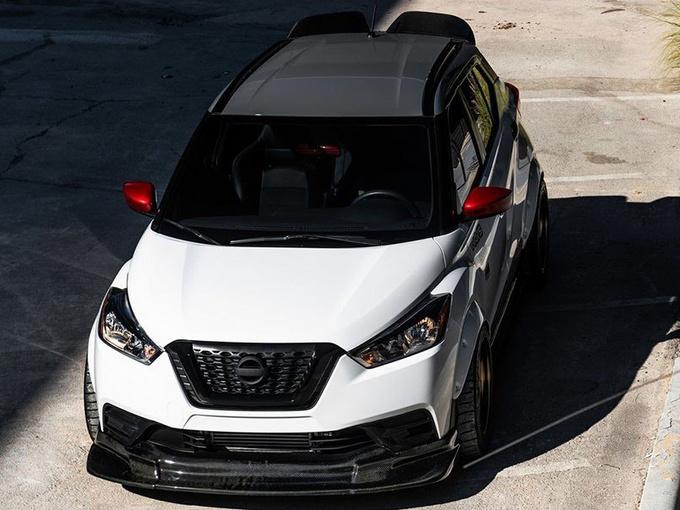 日产全新跨界SUV改装版 搭1.6T引擎动力大涨-图1