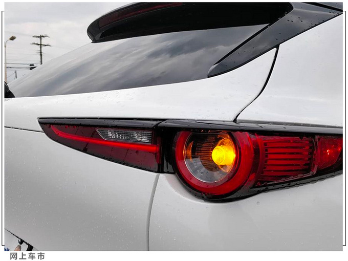 马自达CX-30实车街拍下月开售/尺寸超日产逍客-图7