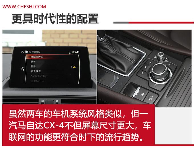 马自达SUV谁更值 CX-4尺寸更大-动力更强-图12