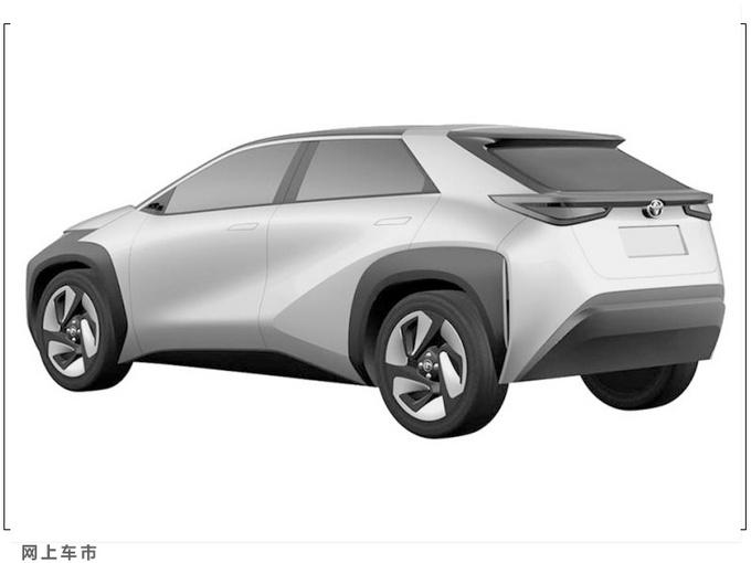 丰田全新小型跨界电动车曝光提供3级半自动驾驶-图4