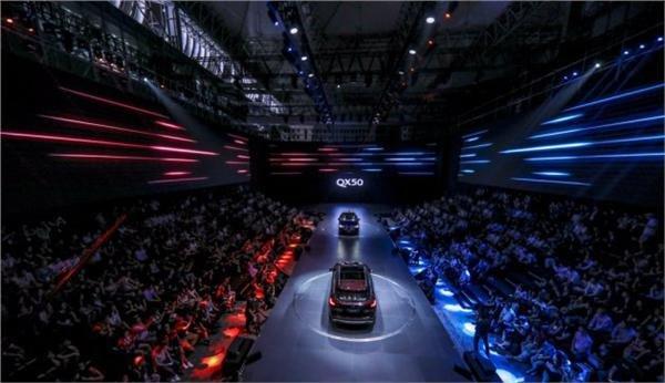 创新豪华SUV 全新英菲尼迪QX50正式上市-图1