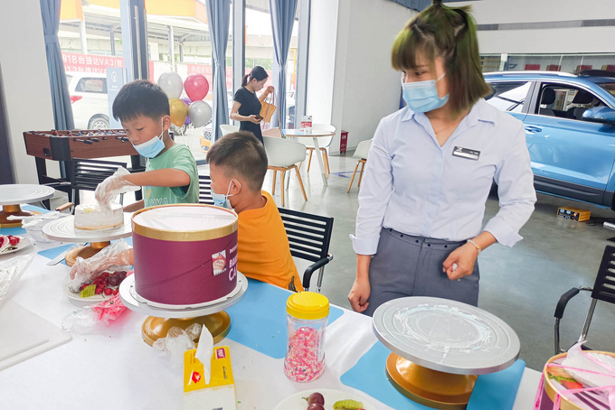 活动回顾|父亲节蛋糕DIY,祝爸爸们节日快乐!-图2