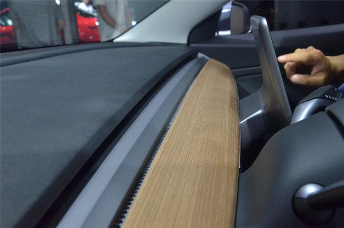 像苹果造的车 特斯拉Model3亮相重庆车展-图12