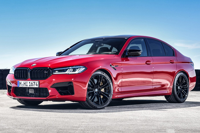 宝马新款M5售价公布搭4.4T引擎+8AT/造型更动感-图1