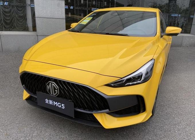 全新名爵5降至6.49万起售 广州车展推特别版车型-图2