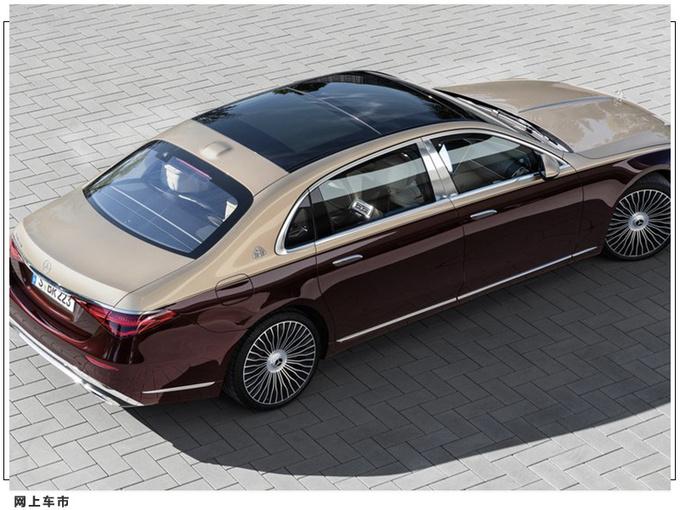 全新迈巴赫S级发布 搭V12引擎 科技配置十分丰富-图5