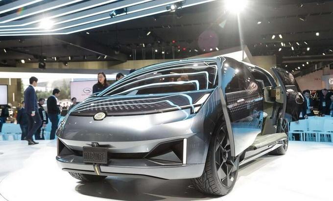 广汽传祺全新跨界SUV美国首发 采用对开门设计-图1