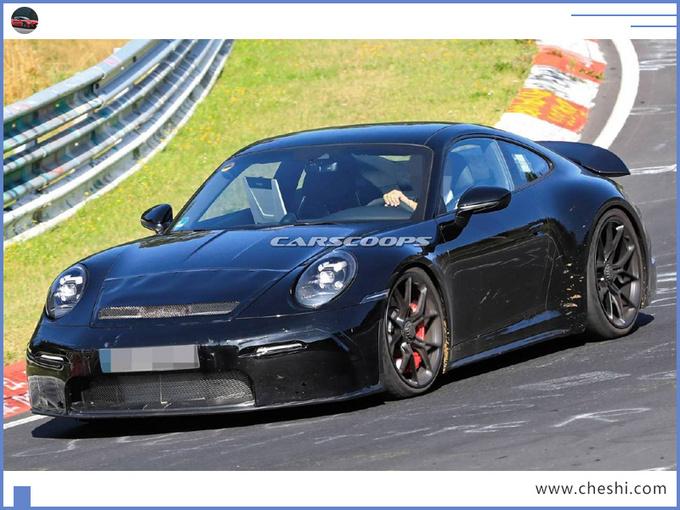 保时捷全新911谍照曝光换新4.0L引擎/pk奔驰GT-图3