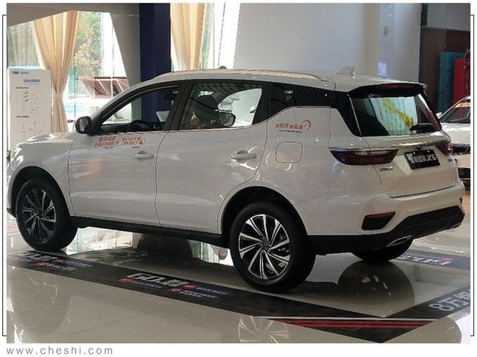 吉利新款远景SUV到店实拍 比博越大预计7万起售-图4