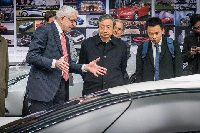 """马凯访问宾法总部,观看正道研发""""燃料电驱动""""新车-图1"""