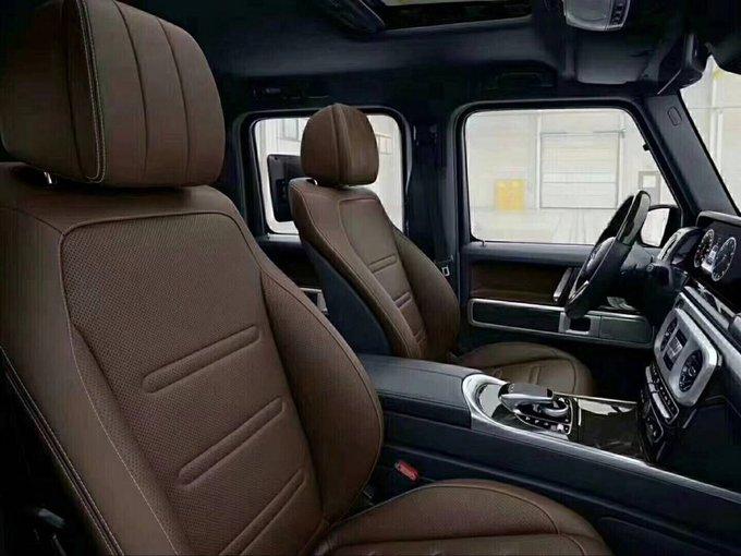 新车上市19款奔驰G500 大改款第一批预售-图6