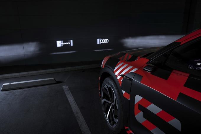奥迪e-tron科技配置提升智能矩阵大灯可播放动画-图3