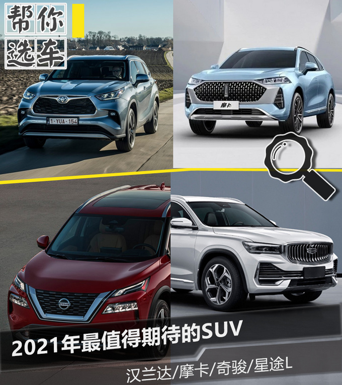 想买SUV别着急不妨看看2021年最值得期待的SUV-图4