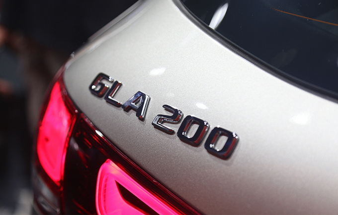 2020粤港澳车展实拍更大空间的奔驰国产全新GLA-图3