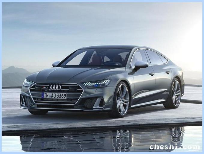奥迪A7性能版多图实车曝光售63万/增新引擎-图1
